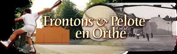 orthe, peyrehorade, landes, pelote basque, fronton, pala, gave, aquitaine, adour,