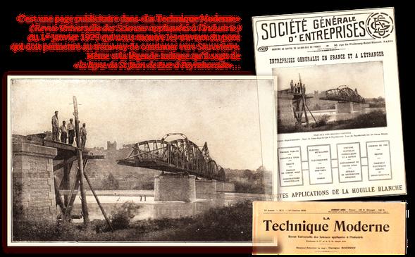 tramway, sauveterre de béarn, st jean de luz, la technique moderne, revue des sciences appliquées