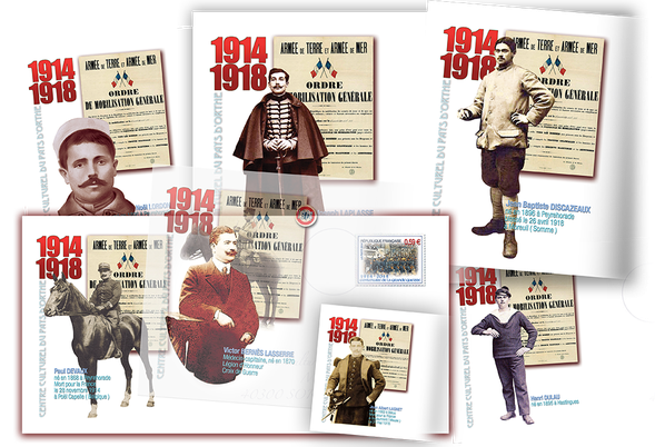 Quelques exemples d'enveloppes illustrées personnalisées déjà fabriquées…