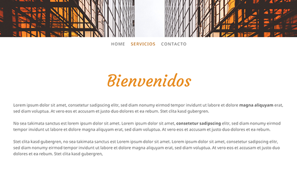 Página web con 140 caracteres por línea