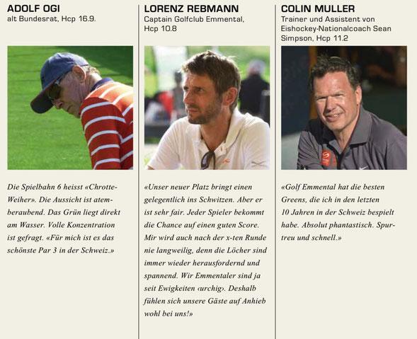Zitate aus dem Clubmagazin 2013