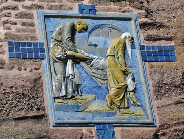 Le corps de Jésus est mis au tombeau