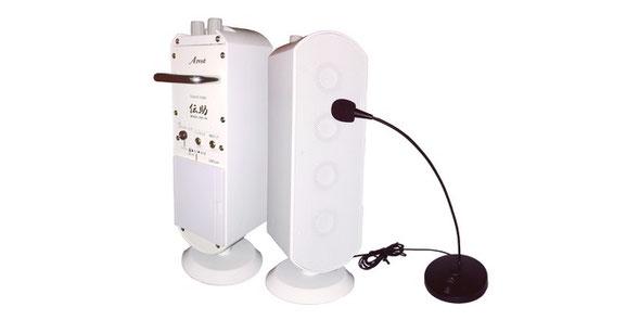 使い方・持ち運びも簡単、周囲に話し声が拡散せずプライバシーにも配慮