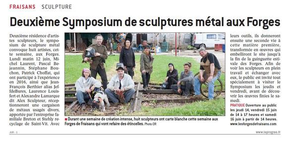 Sculpture métal © Michel LAURENT (MichL) Michel Laurent est un sculpteur métal qui réalise des œuvres monumentales