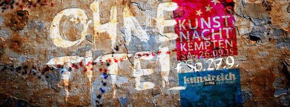 Ohne Titel - Kunstnacht Kempten 2015, artig Kunstreich