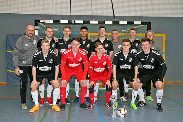 In Wilster erfolgreich: Die A-Junioren des Heider SV. Foto: Olaf Jensen