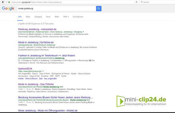 mini-clip24.de • Videomarketing - Google