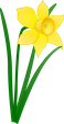 """Blume zu Eierlesen in Oberwil BL. """"Mir freue uns"""""""