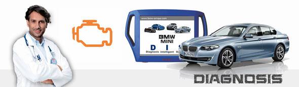 Diagnosis de vehículos BMW y MINI