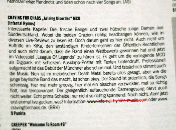 Legacy Magazin 02/13 - 9 Punkte