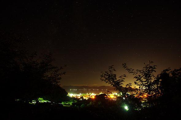 みかん園からの夜景