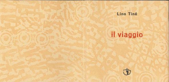 incisione originale dell'autore sulla doppia pagina di copertina