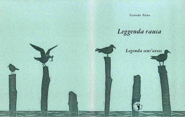 l'insieme della copertina con stampa tipografica e linoleum originale di Luciano Ragozzino
