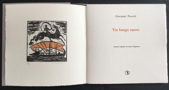 frontespizio tipografico a due colori e xilografia acquarellata in controfrontespizio