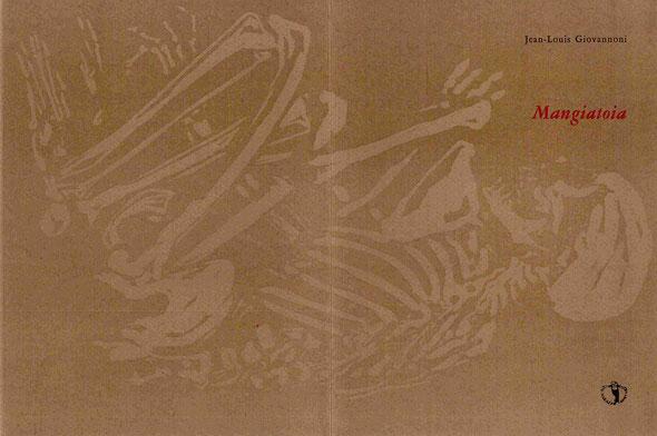 l'insieme della copertina con stampa tipografica e xilografia originale di Luciano Ragozzino