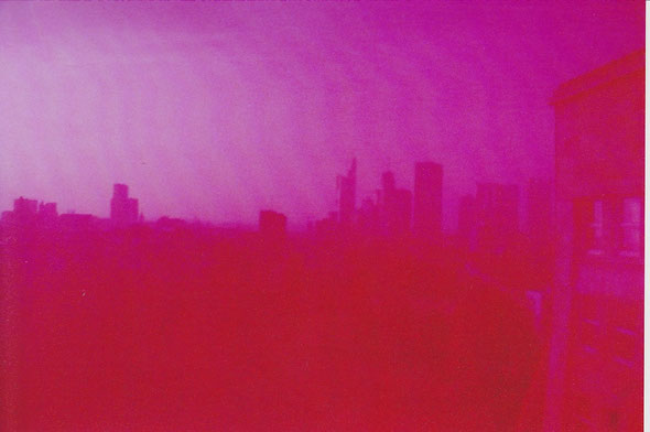 Thema 1: Perspektive. Theoretisch sieht man hier die Frankfurter Skyline aus meinem Bürofenster. Sozusagen Vogelperspektive. Aber nur Theoretisch...