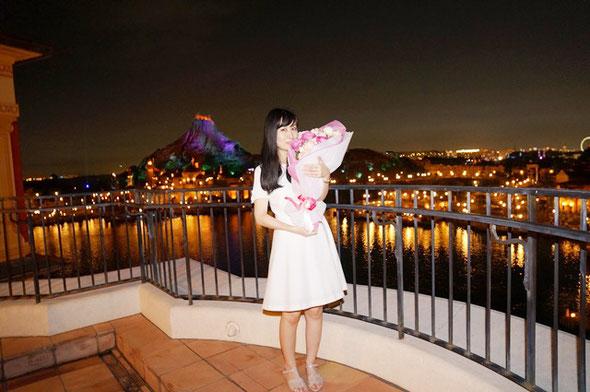 ディズニー プロポーズ 花束 ミラコスタ ホテル 配達 花屋 舞浜