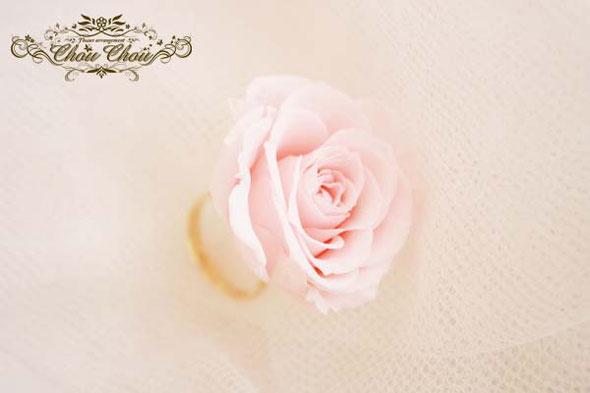 プロポーズリング フラワーリング 薔薇の指輪 プロポーズ 花束 プリザーブドフラワー オーダーフラワー  シュシュ