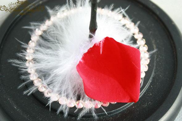 美女と野獣 1輪のバラ ガラスドーム 誕生日 プレゼント プリザーブドフラワー スワロフスキー