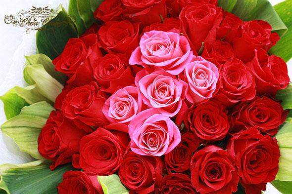 誕生日 結婚記念日 花束 薔薇 オーダーフラワー  ディズニー ミラコスタ シュシュ chouchou  舞浜花屋