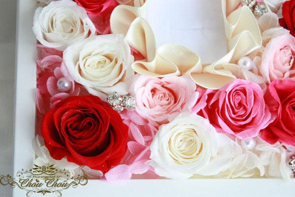 プロポーズ ジュエリーボックス リング ホルダー 薔薇 オーダー フラワー