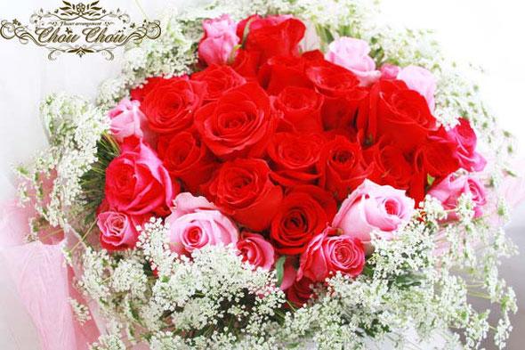 プロポーズ 花束 ディズニー ホテル 美女と野獣 薔薇 ガラスドーム  オーダーフラワー シュシュ 舞浜 浦安 花屋