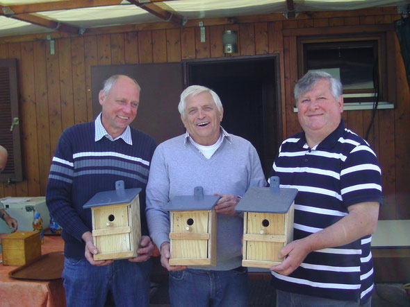 Spende der Familie Frank an den OGV Duttenberg