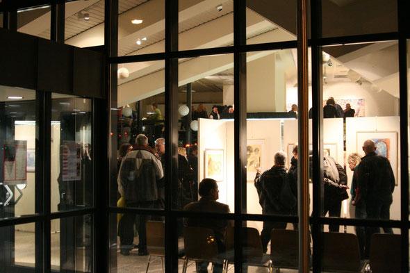 Tolle Bilder, viele Gäste zur Vernissage der Frauen-Kunst-Karawane