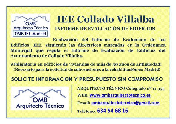 Inspección técnica de Edificos Collado Villalba - ITE Collado Villalba - OMB ITE Madrid - OMB Arquitecto Técnico