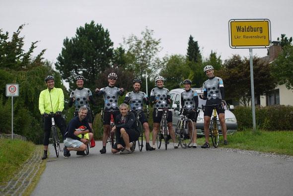Gruppenfoto Radsport