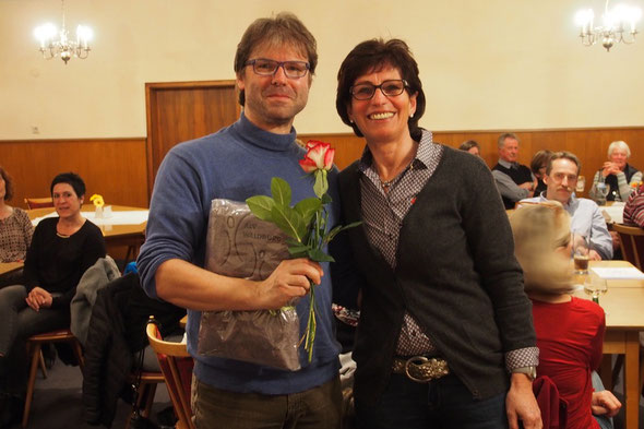 v.l.n.r. Udo Heizenreder, Marianne Späth