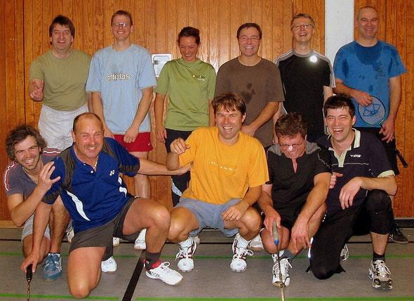 Gruppenfoto Badminton