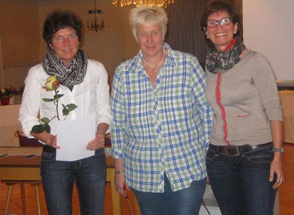 Ehrung Ulla Hauser 25 Jahre ASV