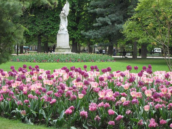 春のリュクサンブール公園 Jardin du Luxembourg
