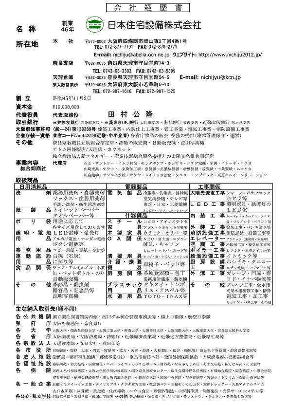経歴書2013
