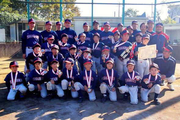 第21回 柏市少年野球低学年秋季大会 準優勝!