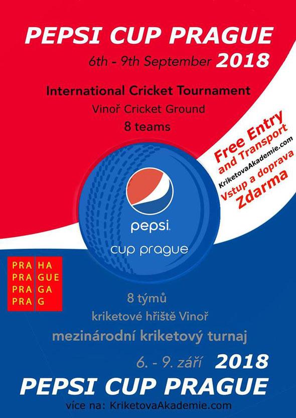 Pepsi Cup Prague 2018