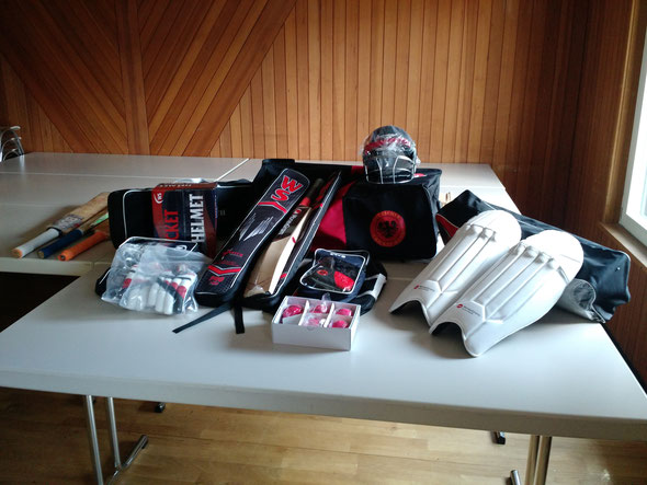 Donated kit from the DCB