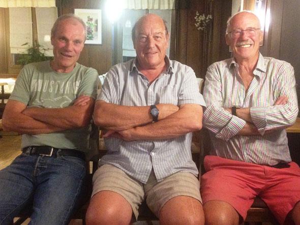 The first three Winterthur Cricket Club presidents