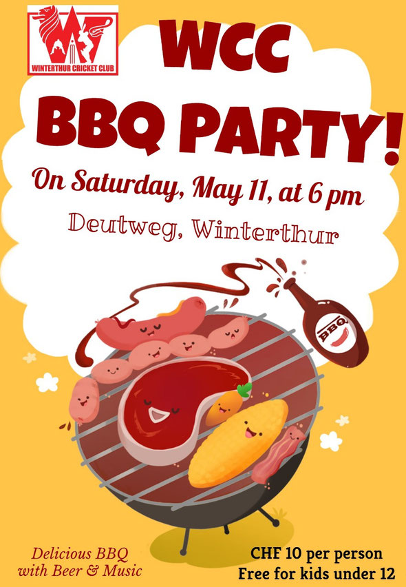 WCC BBQ PARTY (11.5.2019)
