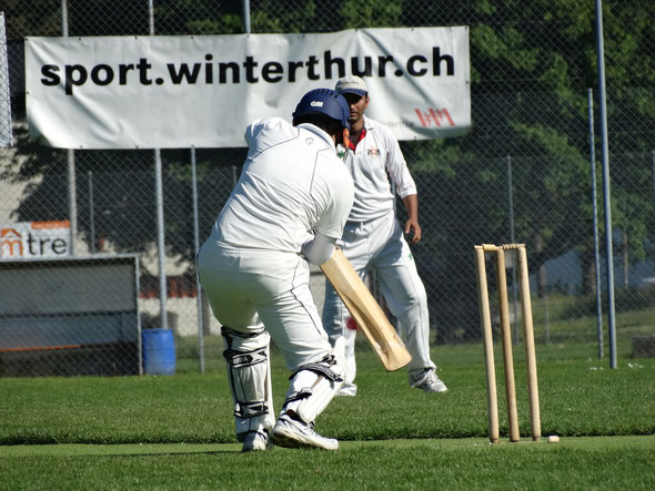 Winterthur CC vs St Gallen at Deutweg on Sunday 18th May 2014