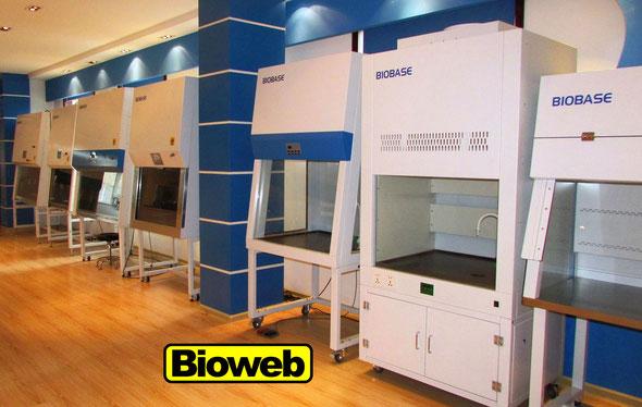 Cabinas de Bioseguridad Ventana Motorizada y Control Remoto