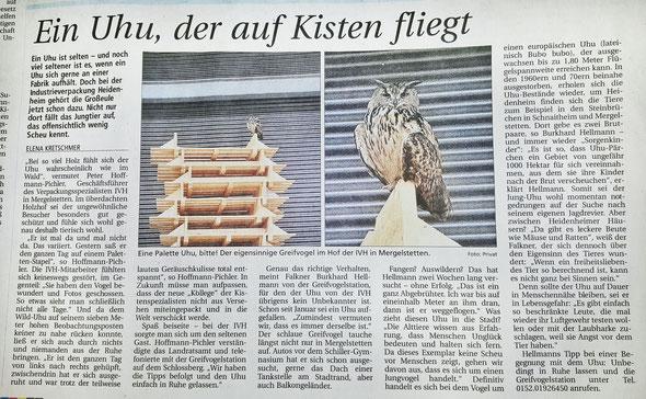 HZ Heidenheimer Zeitung vom 6.5.2015