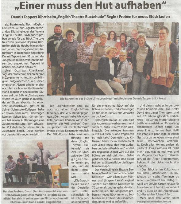 Neue Buxtehuder - Wochenblatt, 24.02.2018