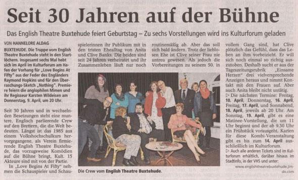Buxtehuder Tageblatt, 02.04.2015