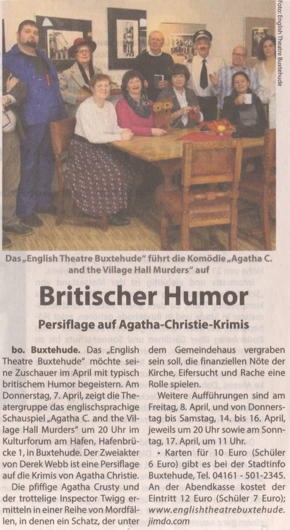 Neue Buxtehuder, 2016
