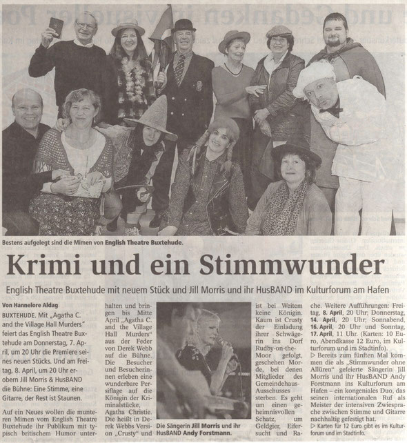 Buxtehuder Tageblatt, 31.03.2016