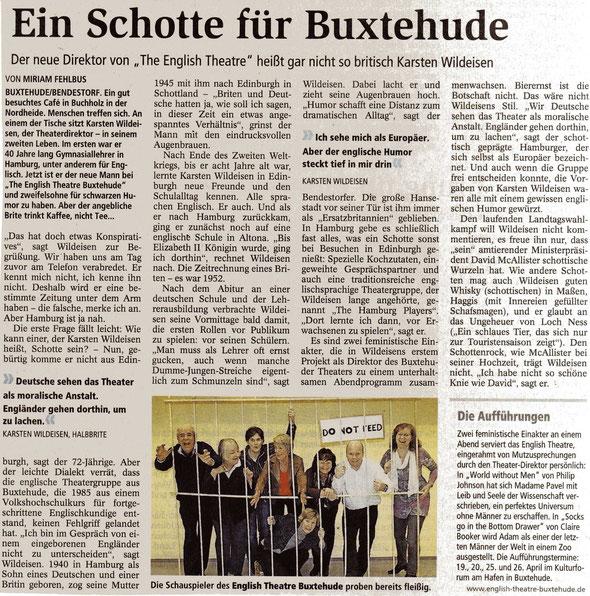 Buxtehuder Tageblatt, 7.1.2013
