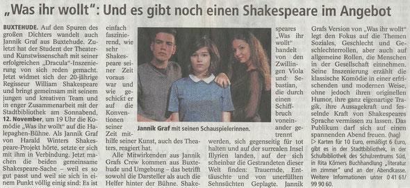 Buxtehuder Tageblatt, 13.10.2016