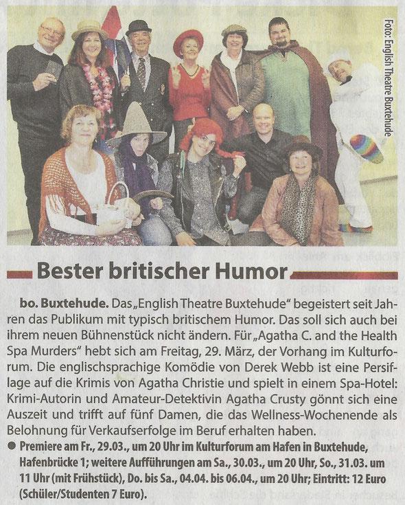 Neue Buxtehuder - Wochenblatt, 27.03.2019